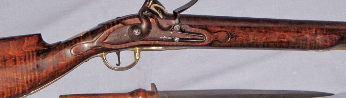 Brown Bess re-stocked by Dutch influenced smith Photo