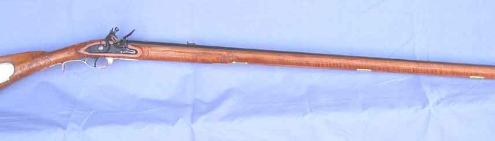#418- reproduction of a Lehigh Co. rifle Photo